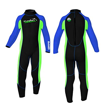 233732ebed6 Kid's Youth Wetsuits 2 mm Child Reactor Toddler Full Wetsuit for Swim Surf  Snorkel and Scuba
