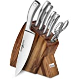 Wusthof Culinar 7-piece Acacia Slim Knife Block Set