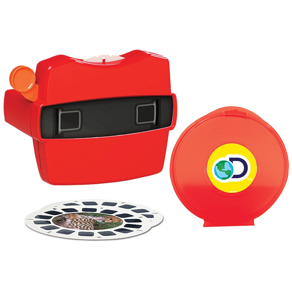 SCHYLLING ASSOCIATES INC View Master Discovery Box Set w/ 21 Images of 3D Dinosaurs & Other Wildlife