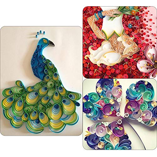 TUPARKA 19 Pcs Paper Quilling Kits 45 Colors 900 Strips Quilling Art Paper DIY Craft