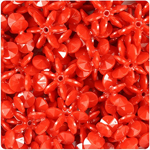 beadtin-red-opaque-18mm-sunburst-craft-beads-150pc