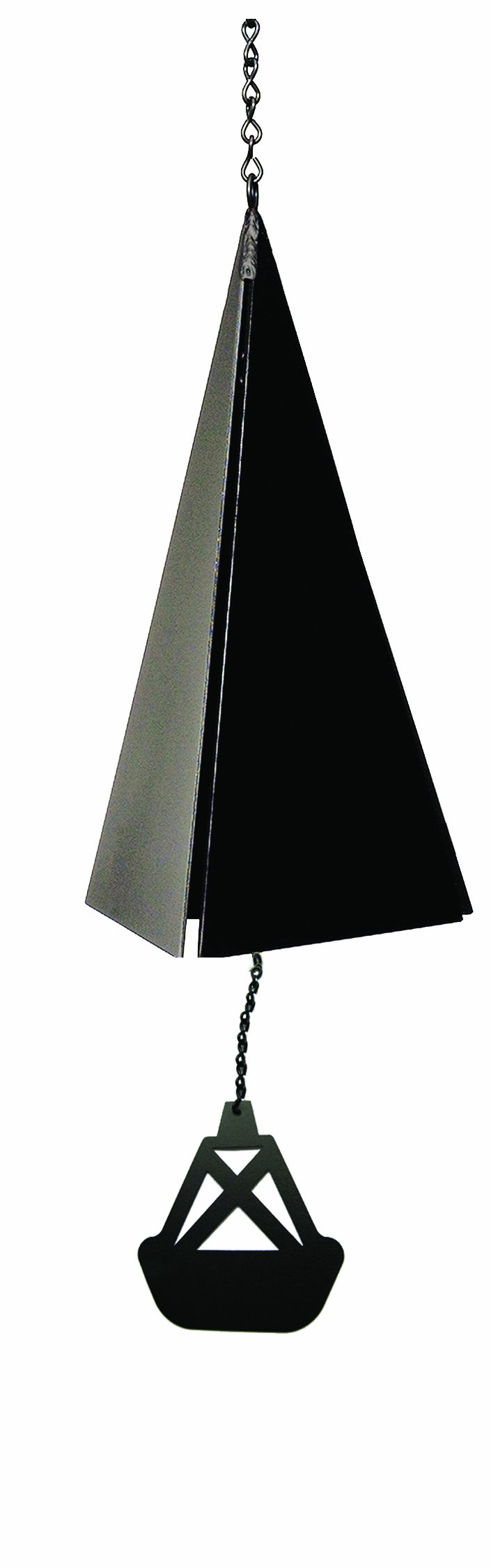 North Country Wind Bells Nantucket Bell Windcatcher with Black Bell Buoy