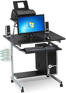 Amazon.com: Yaheetech - Escritorio para ordenador portátil ...