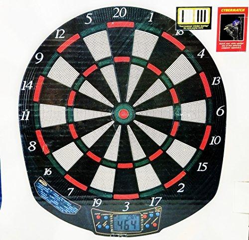 Halex 8プレーヤーLCD電子Dartboard 21ゲーム65レベルバリエーション含むcybermatch