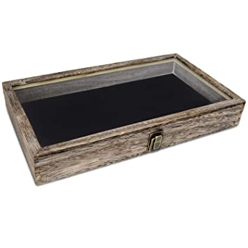 Amazon.com: Alhajero/caja para almacenar cuentas con tapa de ...