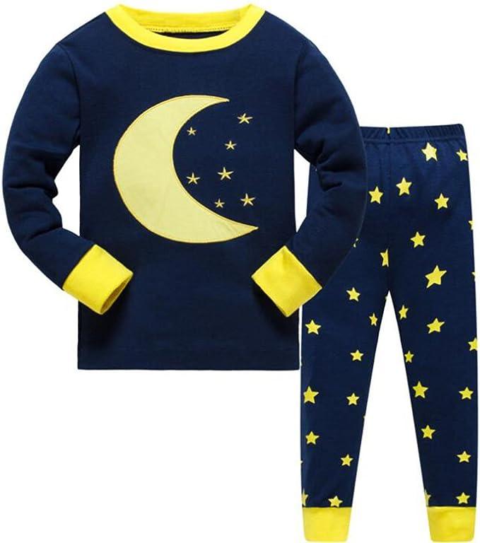 Conjunto de pijamas para niños Conjunto de ropa para niños Niños ...