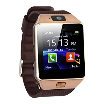 Vitalite de dz09 Montre connectée Bluetooth Smart Watch Montre pour téléphones Android Samsung Galaxy S6/