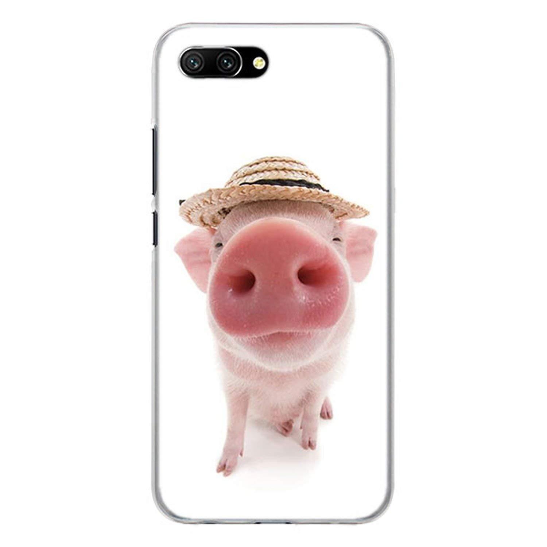Amazon.com: Pink Pigs - Carcasa rígida para Huawei Honor 8 9 ...