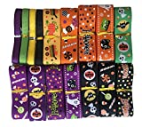 H YOUNG 32yards/lot 25mm Halloween Pattern Grosgrain Ribbon (Halloween Ribbon)