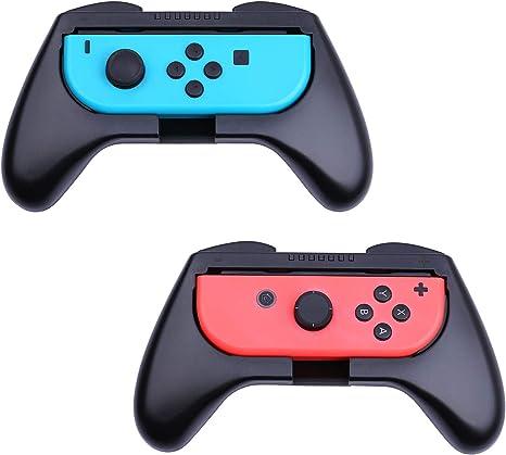 HEYSTOP Nintendo Switch Joy-con Grips (2 Piezas), Mando Joycon Grip Kit, Funda Protector Handle Kits para Mandos Joy-con Set de Nintendo Switch Controller: Amazon.es: Videojuegos