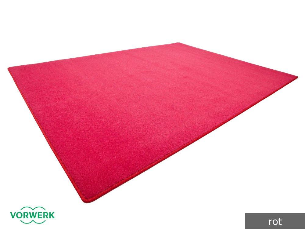 Vorwerk Bijou rot der HEVO® Spielteppich nicht nur für Kinder 200x300 cm