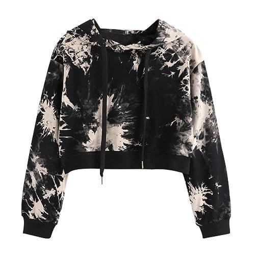 FEITONG Camisa Impresa Mujer Camiseta de Manga Corta Sudaderas Tops Blusa