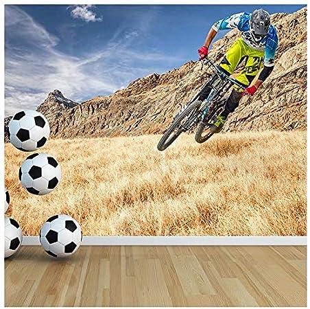 azutura Carrera de Bicicleta de montaña Fotomurales Deporte Extremo Papel Pintado Ciclismo Decoración del hogar Disponible en 8 Tamaños XXX-Grande Digital: Amazon.es: Hogar