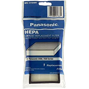 Panasonic MC-V194H HEPA Filter, 1-Pack