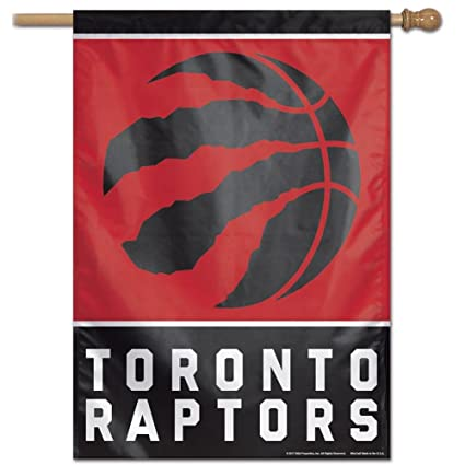 Amazon.com   Toronto Raptors Vertical House Flag 27x37 NBA   Wall ... 2a1d54fd4