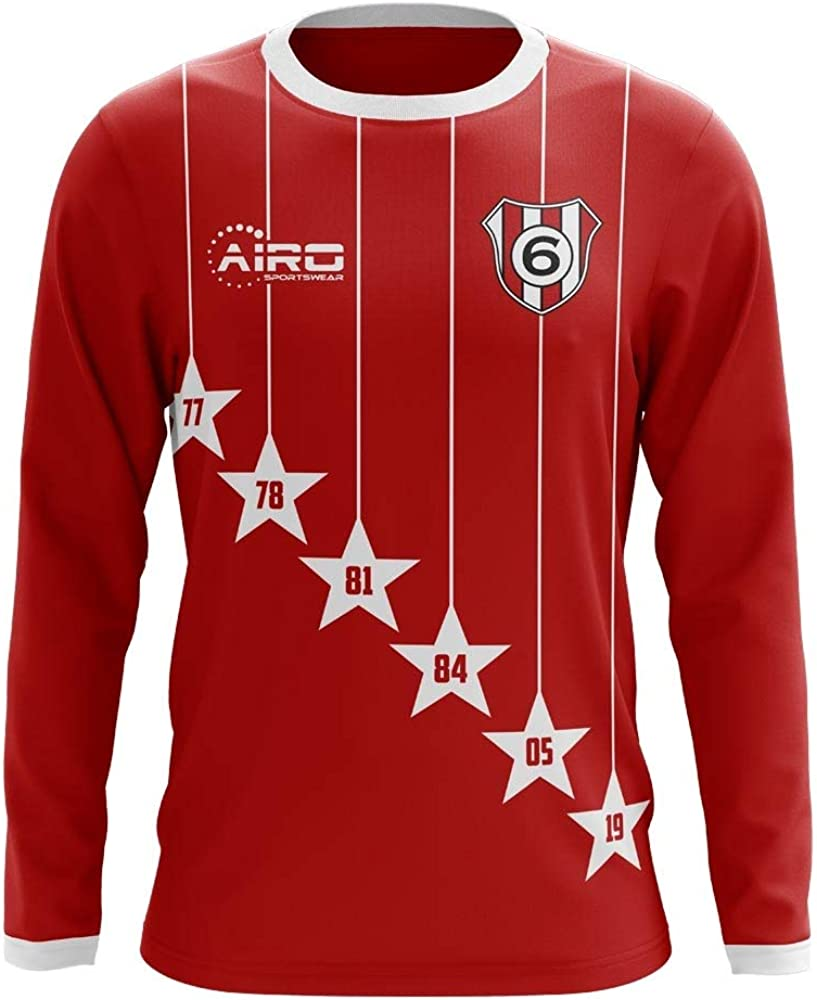 airosportswear 2020 2021 liverpool 6 time champions concept football soccer t shirt jersey adult long sleeve clothing amazon com airosportswear 2020 2021 liverpool 6