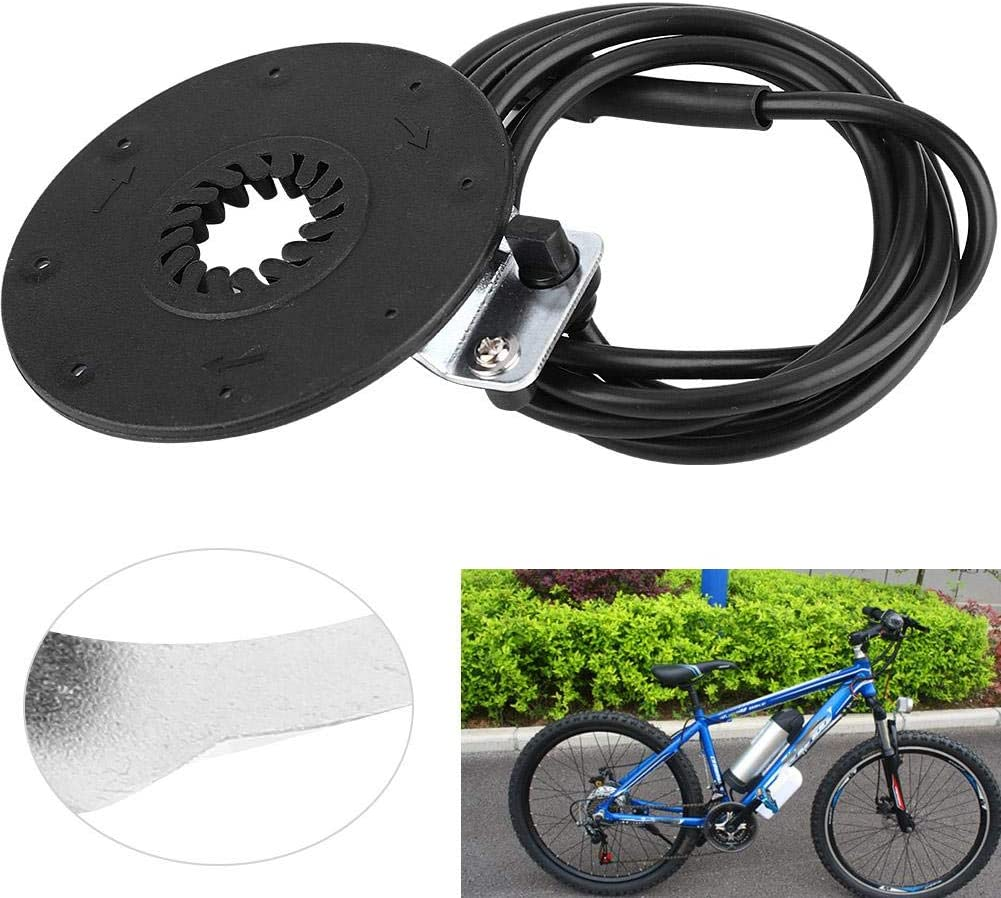 VGEBY1 Fahrrad Power Sensor KT-8Z Fahrrad Modified Electric Kit mit acht Magnetic Point Power Sensor Zubeh/ör Stecker Bike Pedal Sensor