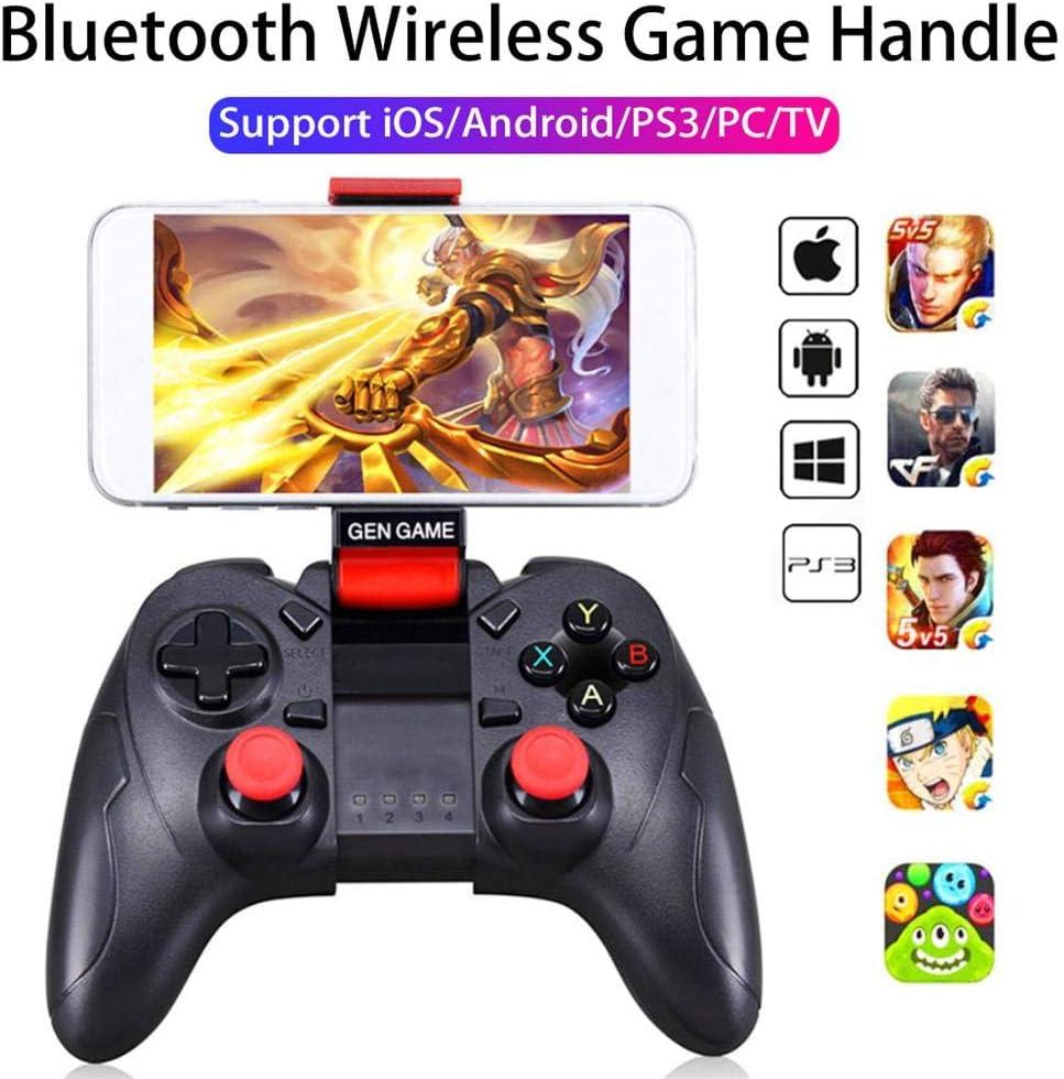 Funihut S6 Mando de Juego Gamepad Joystick Bluetooth inalámbrico para iOS Android teléfonos móviles Tablet TV Box Universal Game Handle: Amazon.es: Electrónica