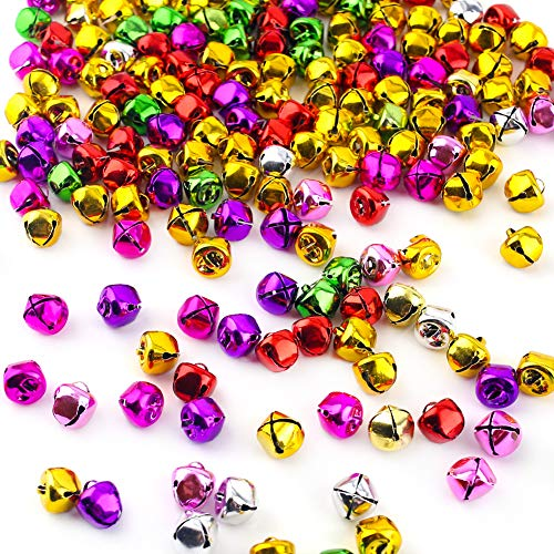 Really Colorful Christmas Bells for Crafts!
