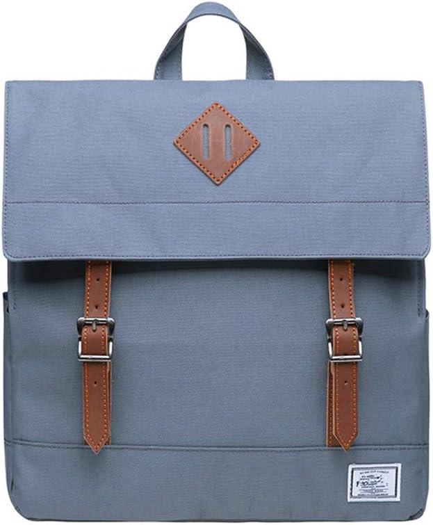 Grey DRF Vintage Backpack for Women College Daypack 13.3 Laptop BG05