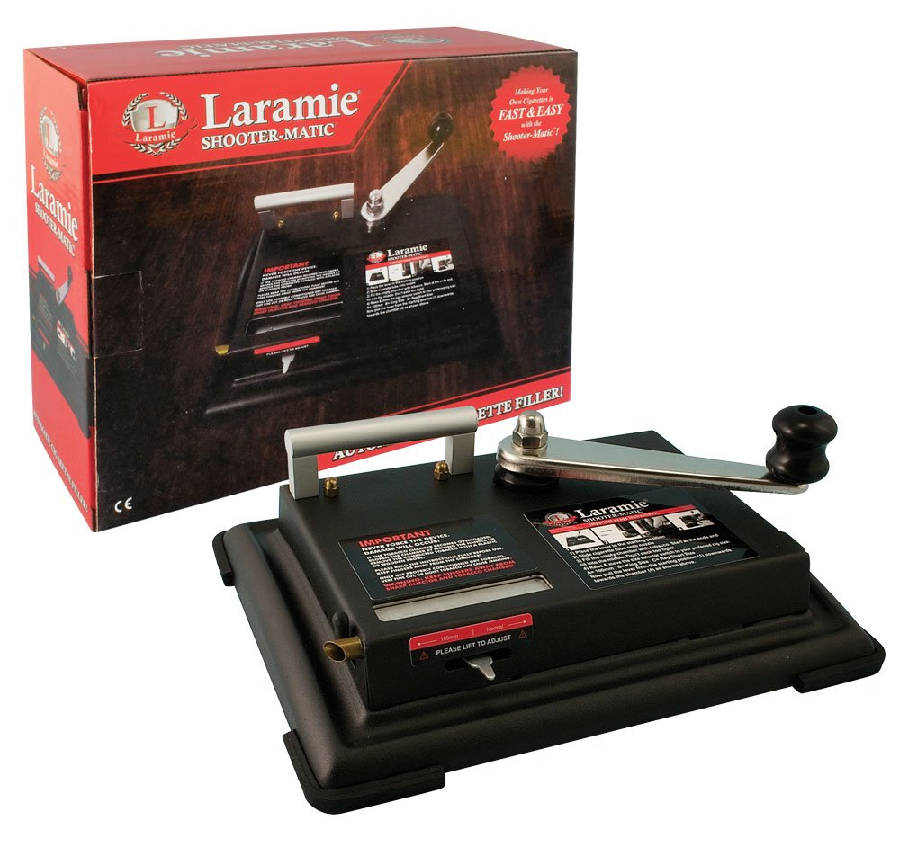 Laramie Shoot O Matic Heavy Duty Metal Cigarette Machine (Does Both King Size and 100mm Tubes) by Laramie