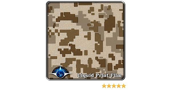Hydro Dipping Desert Storm Fabric DIGITAL Camo 10 ft roll MC-231 Water Transfer Printing Film Hydrographics Film