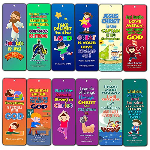 Jesus is My Superhero Bookmarks (60-Pack)