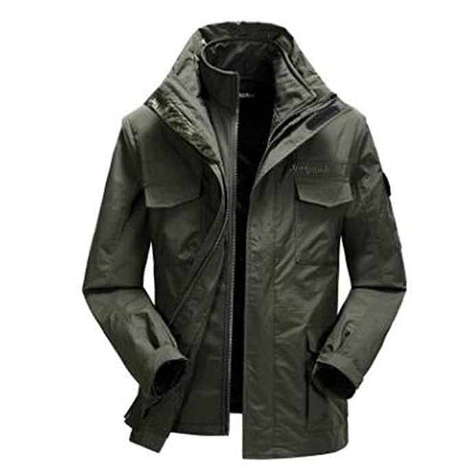 WU LAI Chaquetas para Exteriores Winter para Hombre XL Warm Waterproof Multi-Function Triple: Amazon.es: Ropa y accesorios