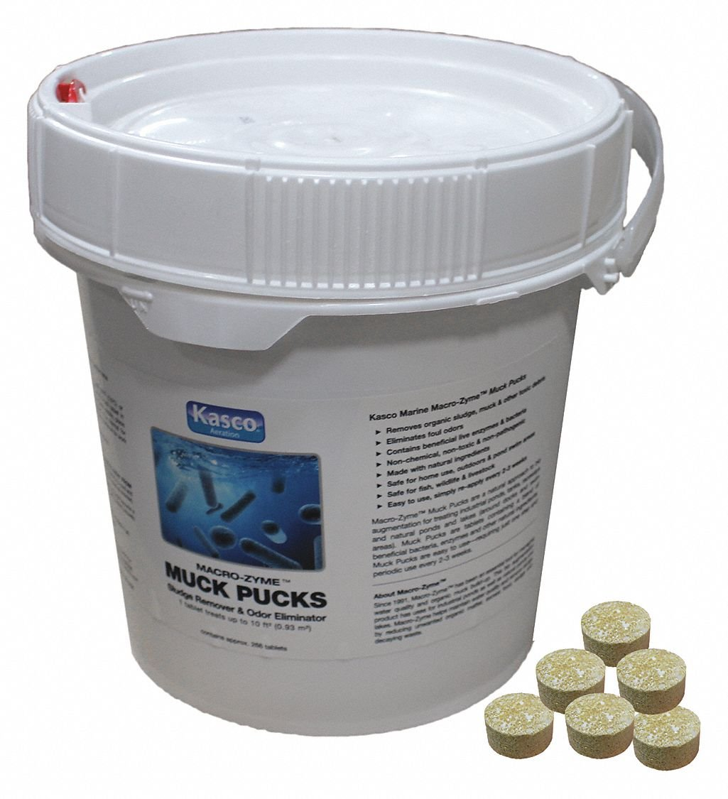 Tablets Pond Bacteria Enzyme, 7 lb.