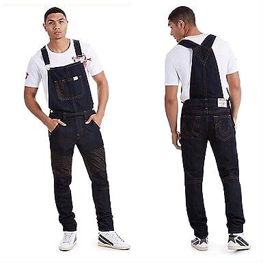 9411777f9ab Amazon.com: True Religion Men's Moto Overalls (XL): Clothing