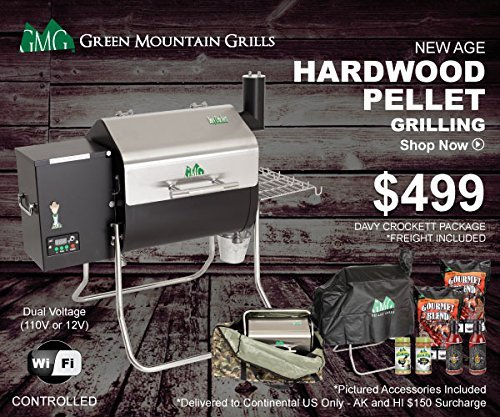Green Mountain Grills Davy Crockett Online Package