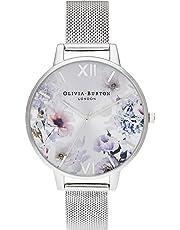 Olivia Burton Womens Analogue Quartz Watch with Stainless Steel Strap OB16EG117