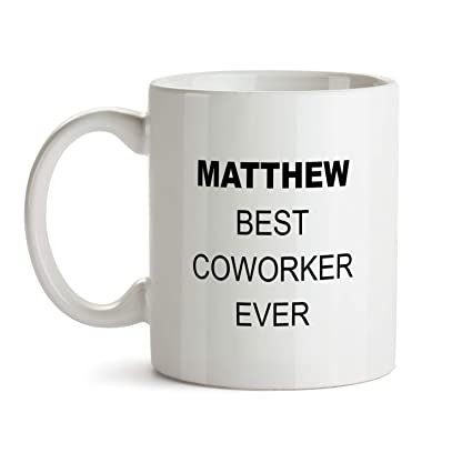 Matthew Best Co Worker Ever Gift Mug