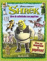 Shrek. Libro de actividades con pegatinas: ¡Con un montón