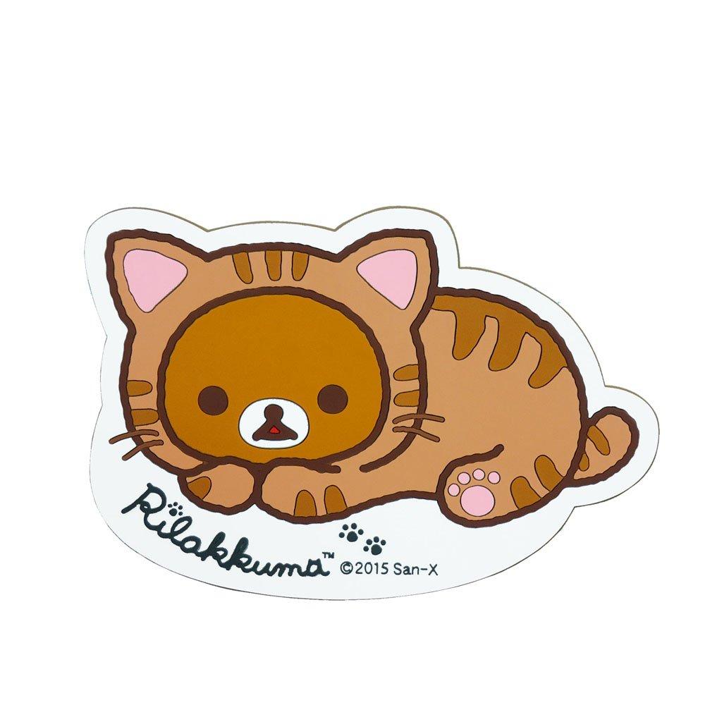AkiraKuni slip mat Rilakkuma cat RK254