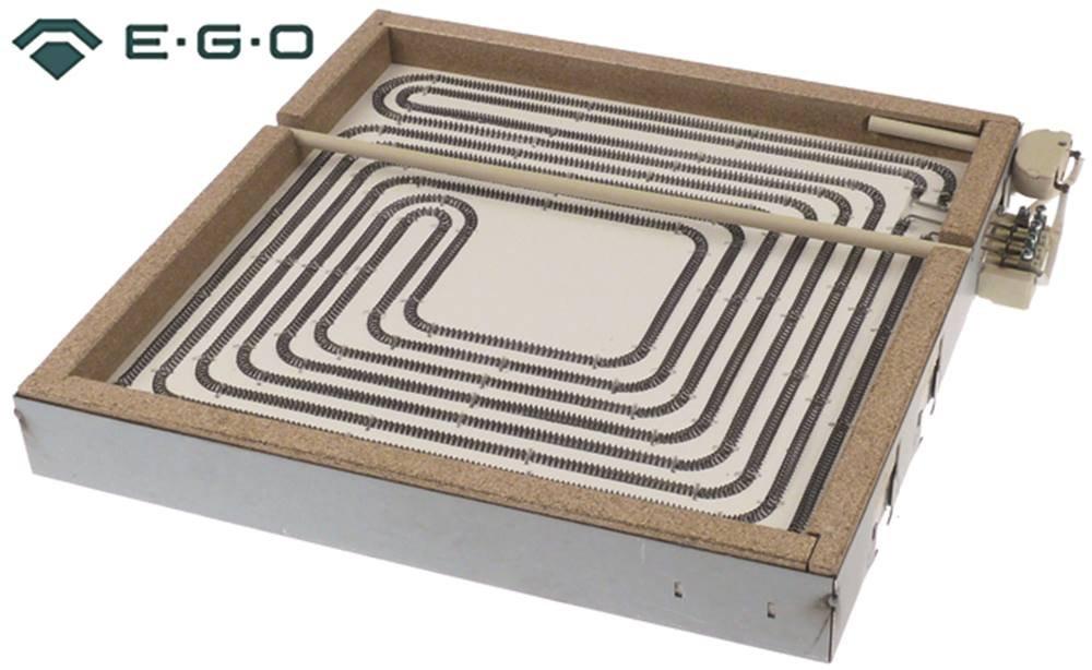 NCT9FE8E EGO 10.77828.006 Strahlungsheizk/örper f/ür Ceranherd Mareno NCT98E NCT98E2 NCT9FE8E2 ohne Topferkennung 4000W 400V