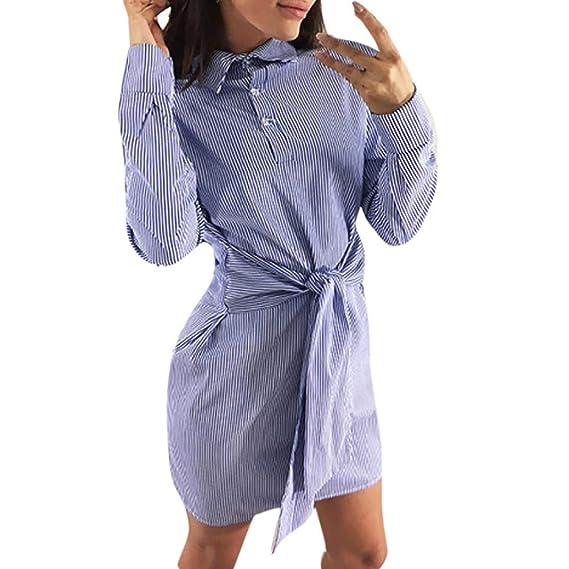 BBestseller-Vestidos Fiesta Vestir Ropa Falda Mujer Otoño Largo de la Manga del Vestido del
