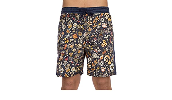 PUKAS Flower Power Board - Bañador para Hombre Pantalones Cortos, Gold Flower, Large: Amazon.es: Deportes y aire libre