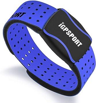 iGPSPORT HR60 pulsómetros Brazalete Compatible con Ant+ y Bluetooth Impermeable IPX7 Sensor Óptico de Frecuencia Cardíaca: Amazon.es: Deportes y aire libre