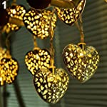 20 LEDs Battery Operated Filigree Met...