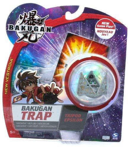 Bakugan Battle Brawlers New Vestroia Trap Tripod Epsilon Haos (Grey)