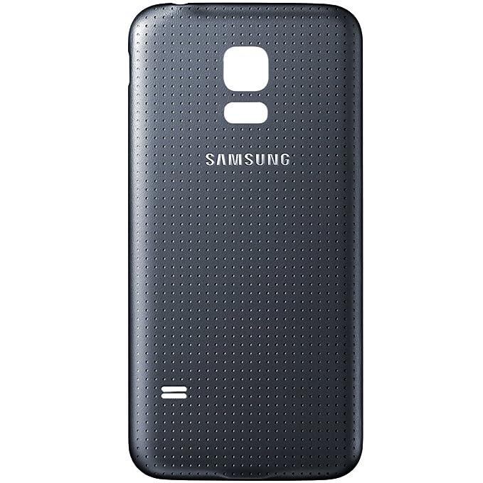 Tapa trasera original para Samsung Galaxy S5 Mini G800F, color negro