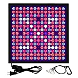 45W LED Grow Lights 0.4inch Ultrathin with 225Pcs LED Full Spectrum Hanging Plant Growing panel For Indoor Garden Greenhouse and Hydroponic Aquatic