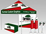 Eurmax 10 x 10 Feet Ez Pop up Canopy Tent