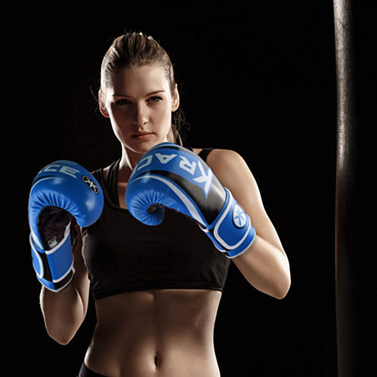 KRACE Boxing Gloves for Kids Men Women 6oz 8oz 10oz 12oz 14oz 16oz Boxing Punching Gloves Training Gloves Sparring Bag Gloves