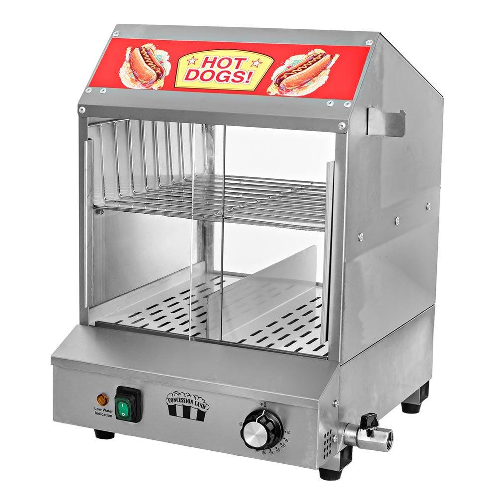 Concession Land - 120v Hot Dog Steamer