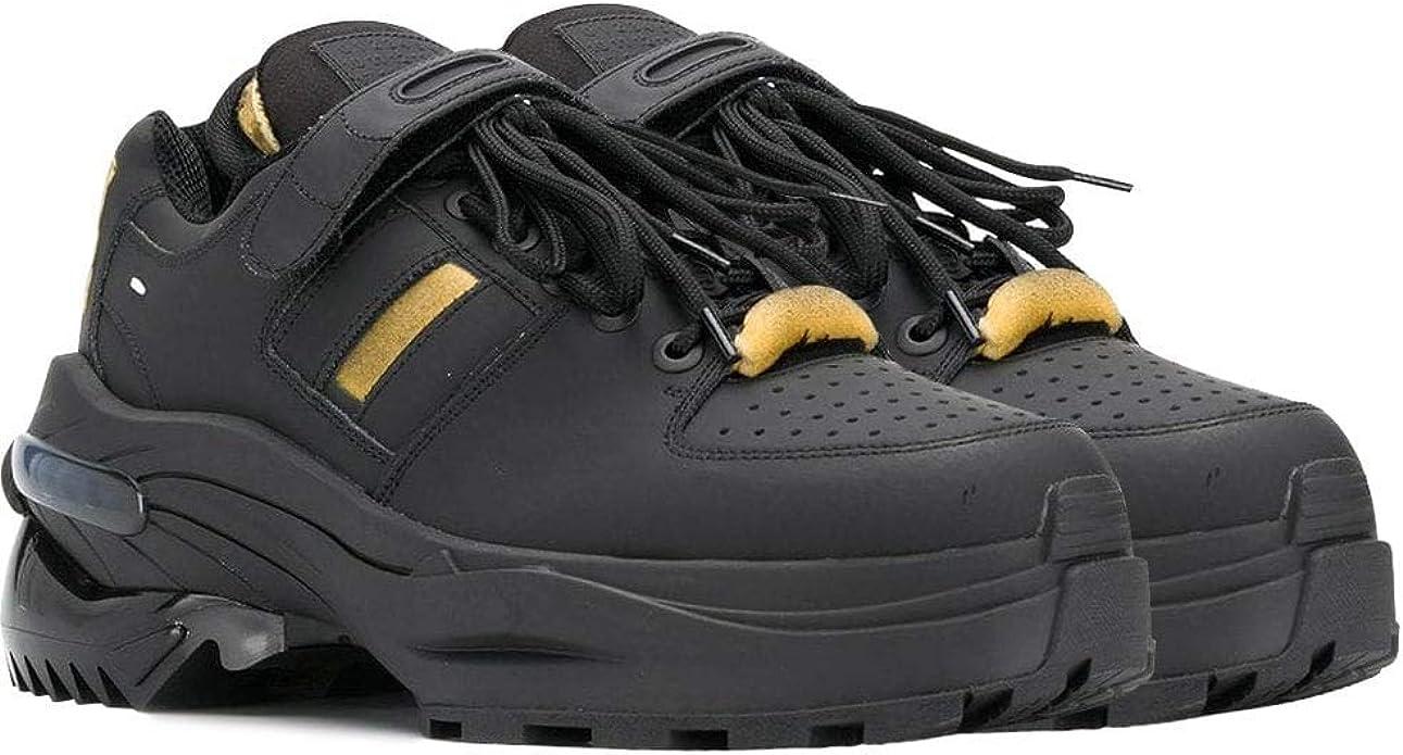 Margiela Maison Margiela Entrenadores de Trabajo Pesado Negro: Amazon.es: Zapatos y complementos