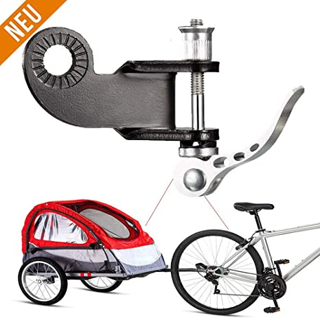 XUNKE Acoplador de Enganche de Remolque para Bicicleta y Remolque ...