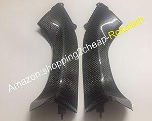 Carbon Fiber Intake Dash Panels Fairings For Kawasaki ninja ZX-10R 2006 2007 ZX10R Upper Front Dash Air Intake Cover