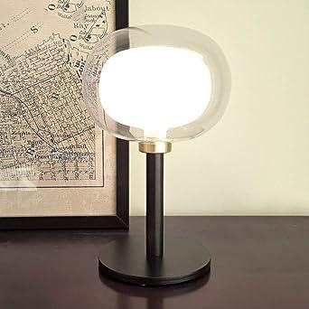 Bedside Desk Light Modern Nordic Glass